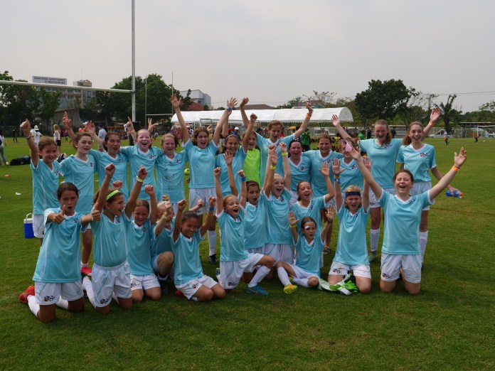 ANZA Soccer's all girls teams, the Matildas dominate in the International Girls Football Festival in Bangkok.