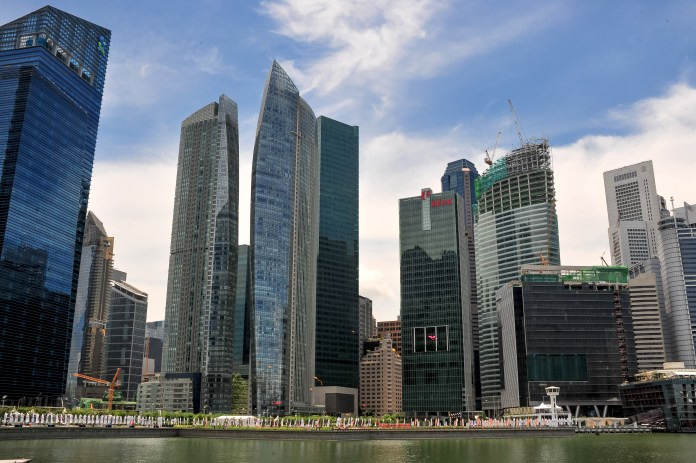 We Mean Business: the CBD District of Singapore