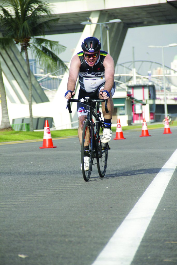 ANZA Cycling member competes in first duathlon, the City60 in Singapore