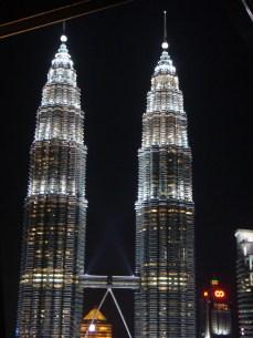 Petronas Towers - from the Sky Bar
