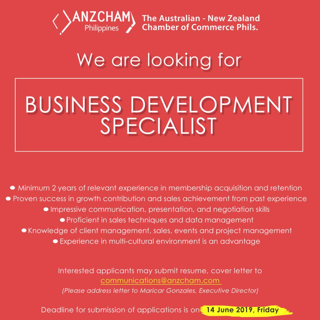 Job Vacancies  ANZCHAM