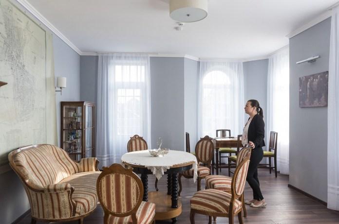 A felújított Bencs-villa Nyíregyházán