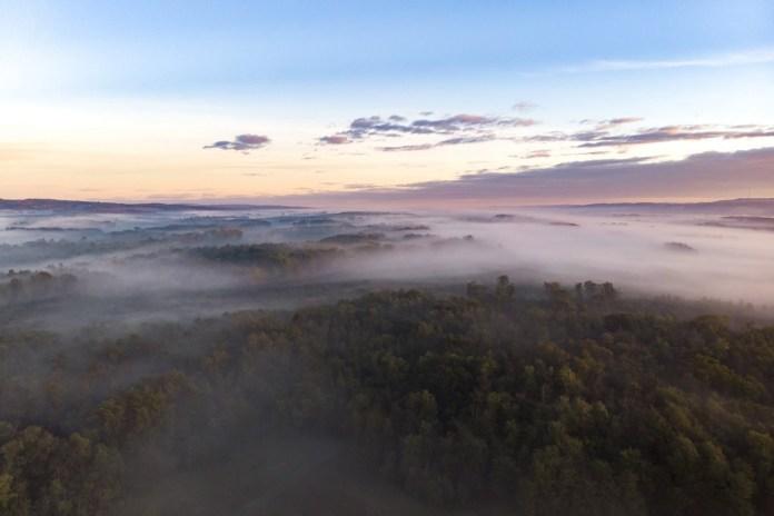 Köd Nagykanizsánál