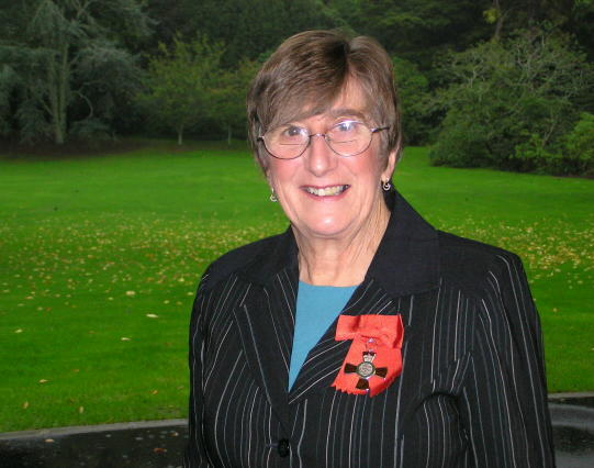 Dr Ros Vallings - New Zealand Order of Merit