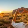 Uluru sunset Northern Territory Australia