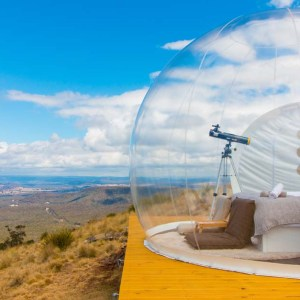 Capertee Valley bubble tent
