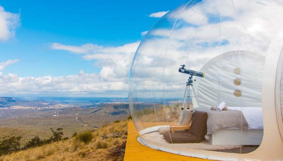Capertee Valley bubble tent