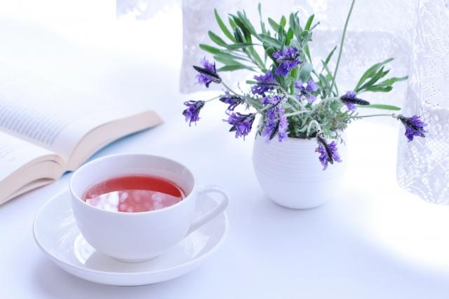 ハーブと紅茶
