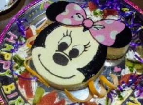 ミニーちゃんのケーキ