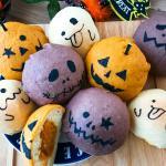 ハロウィン かぼちゃ パン