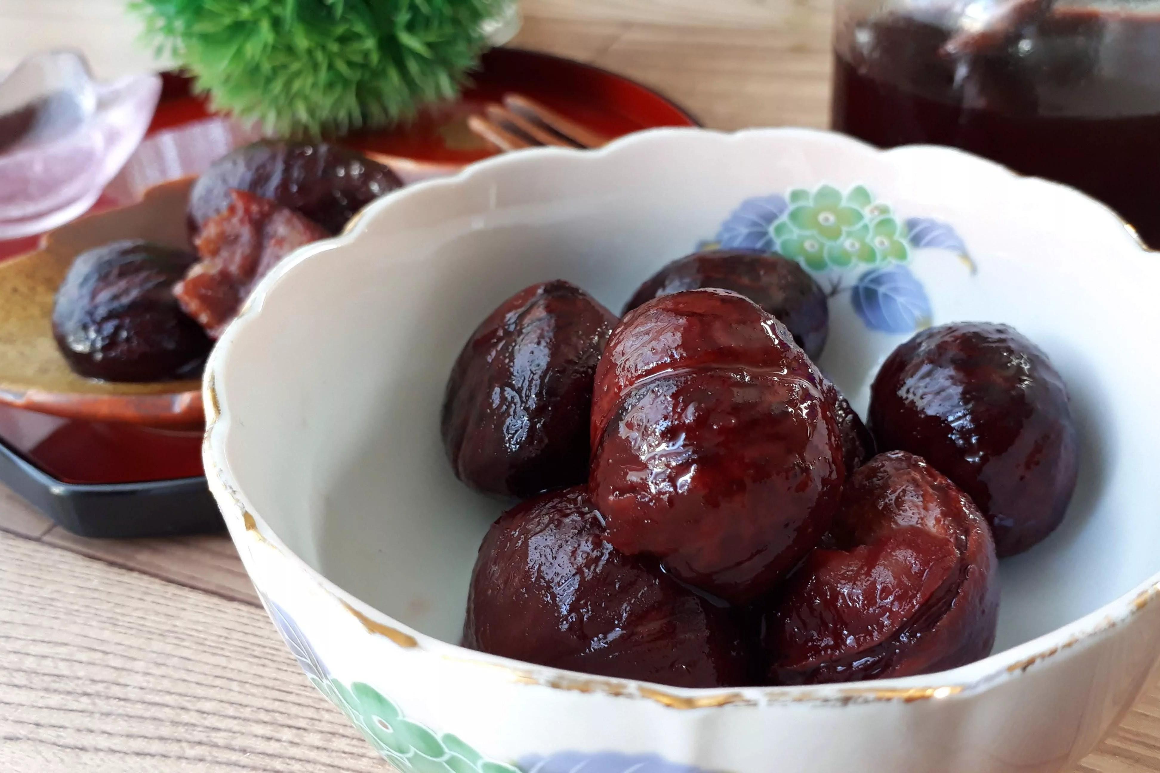 栗の渋皮煮 簡単レシピ 保存方法 期間 カロリー