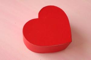 セリア バレンタインラッピング