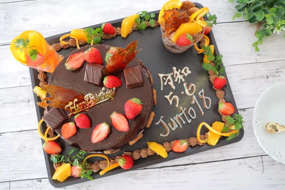 ケーキ デコレーション