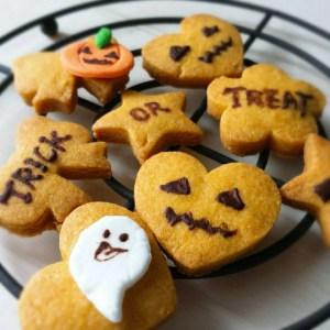 ハロウィン クッキー レシピ