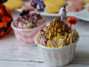 ハロウィン カップケーキ