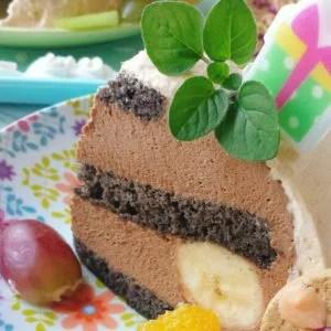 ドームケーキ チョコ