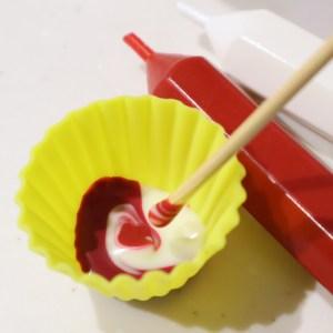 キャラチョコ 作り方