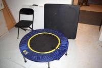 Auction Ohio | Tables, Chair & Trampoline