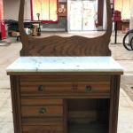 Auction Ohio Marble Top Dry Sink