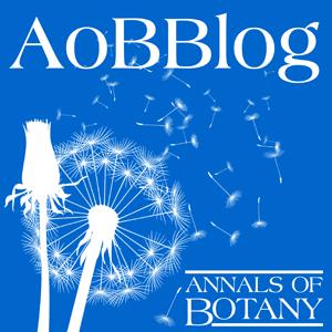 AoBBlog logo showing dandelion seeds being dispersed