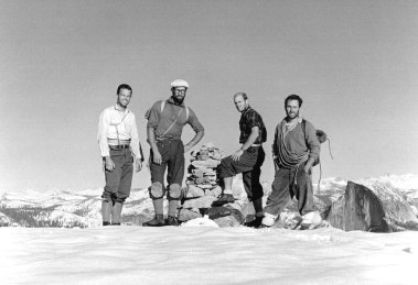 Photo of rock climbers