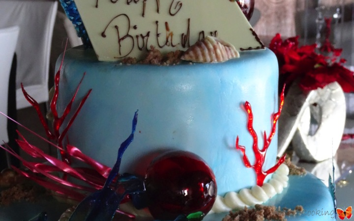 Ocean Birthday Cake Full Service Catering And Event Planning