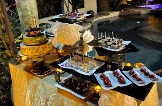 Art Of Cooking elegant Bollywood stunning desserts station