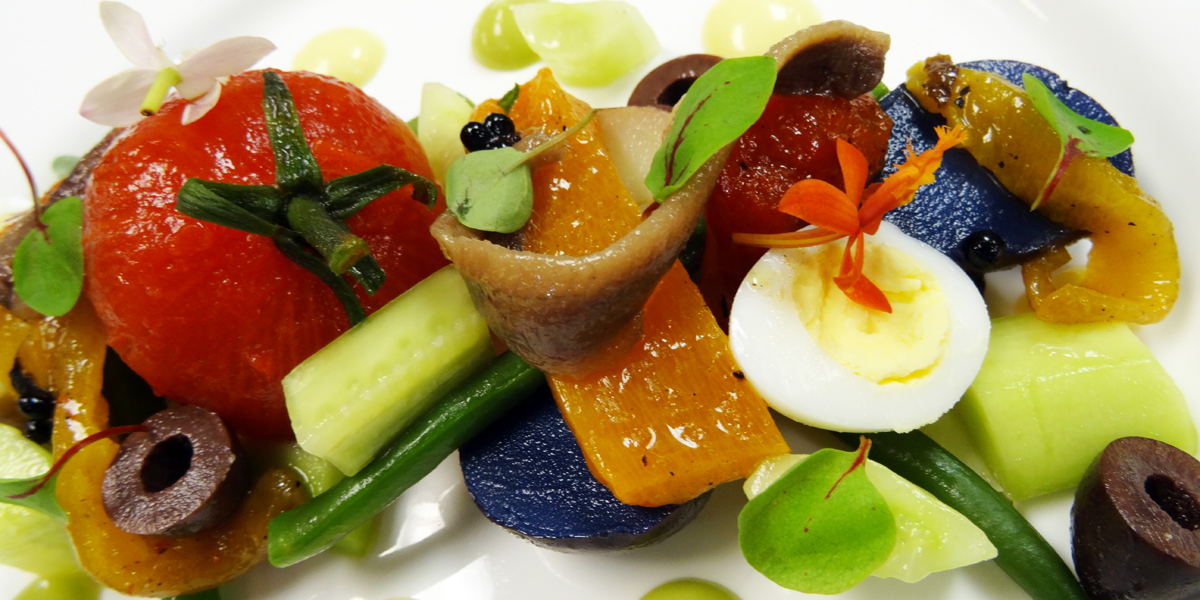 Art-of-cooking-catering-event-planning-weddings-consulting-las-vegas-cake-design-caterer-planner-party-corporate-VIP-nicoise-salad-revisited-french