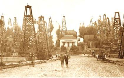 los angeles oil fields