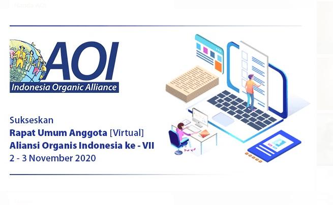Rapat Umum Anggota [Virtual] – Aliansi Organis Indonesia ke VII