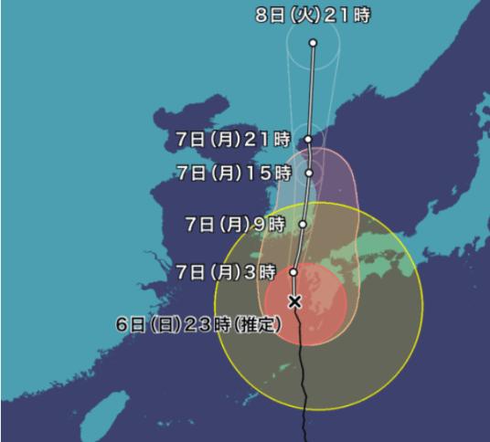 進路 号 台風 10