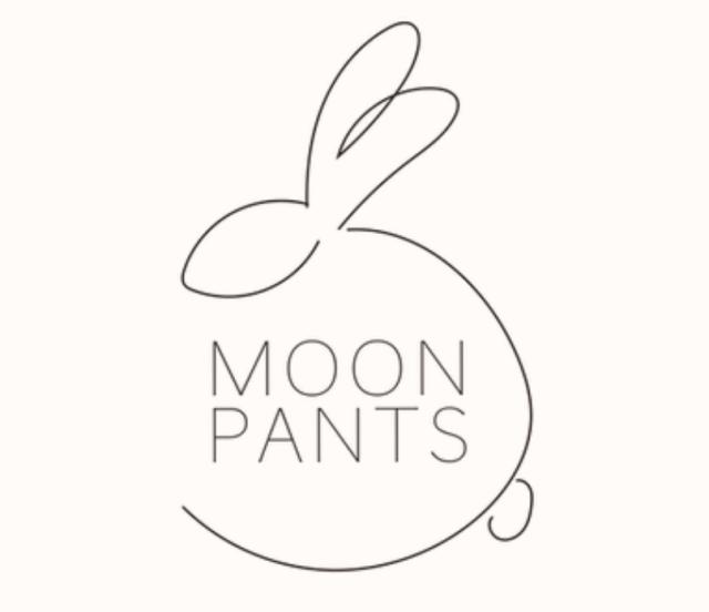 ムーンパンツのロゴ