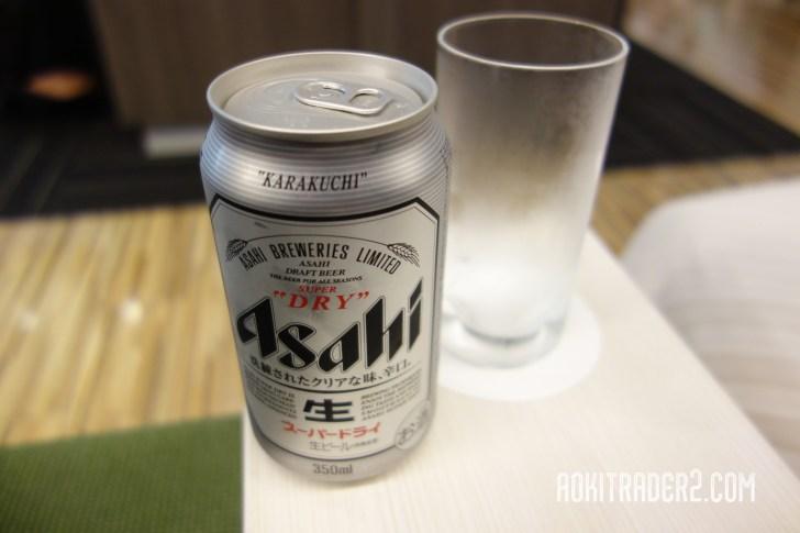 成田空港 カードラウンジ ビール