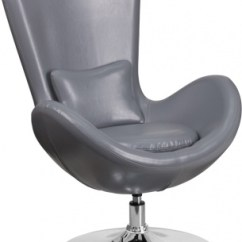 Round Base Chair Booster Seat For Dining Kmart Egg Series Lounge With In Gray Leather Atlanta