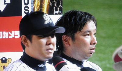 成瀬8勝目&里崎通算100號弾!!: いすみマリーンズ