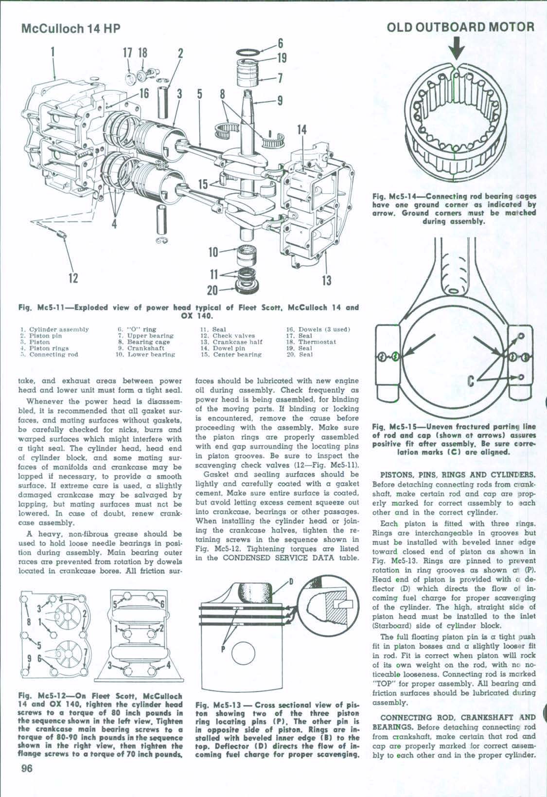 I need a parts manual Scott McCulloch 12 or 14HP 1960