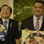 西岩親方「盛り上げたい」11年ぶりの青森大相撲夏巡業!