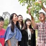 「台湾の高校生」青森の農家暮らし体験!in (弘前市,平川市)