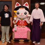 aomori 「三戸大神宮」にイメキャラ「みこにゃん」登場 !