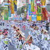 青森県八戸市「第47回八戸小唄流し踊り」2017(7月14日)