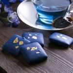 世界初、青森の天然由来の青色チョコレート誕生!