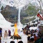 青森・西目屋村「乳穂ケ滝氷祭 2018」開催!@2月18日
