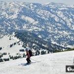 八甲田山では春スキー=連休初日好天に恵まれる@4月28日