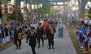 むつ市「大畑八幡宮例祭」の渡御行列、300年の節目@2018年8月12日