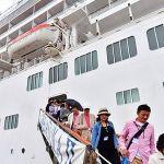 「豪華クルーズ船=飛鳥II」青森港に帰港/2018年9月10日