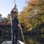 「弘前公園の観光舟」10月26日から運航スタート!