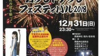 「蕪嶋カウントダウンフェスティバル2019 」(2018年12月31日)