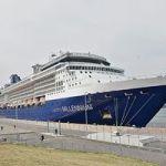 青森港に大型クルーズ船の本年度第1便となる「セレブリティ・ミレニアム」寄港!@2019年4月24日