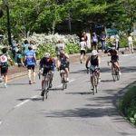 黒石「虹の湖デュアスロン」=ランニングと自転車で43.8キロ疾走!