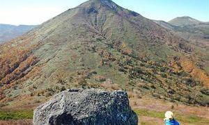 北八甲田・高田大岳 標高1559メートルに引き上げられた。